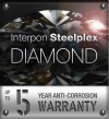 Interpon Steelplex Diamond 5 Warranty Logo