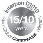 Interpon D1010 Premium Commercial Warranty Logo