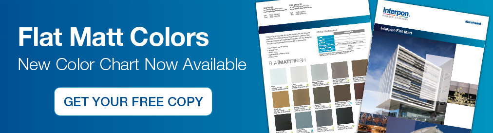 Interpon Flat Matt Color Chart now available